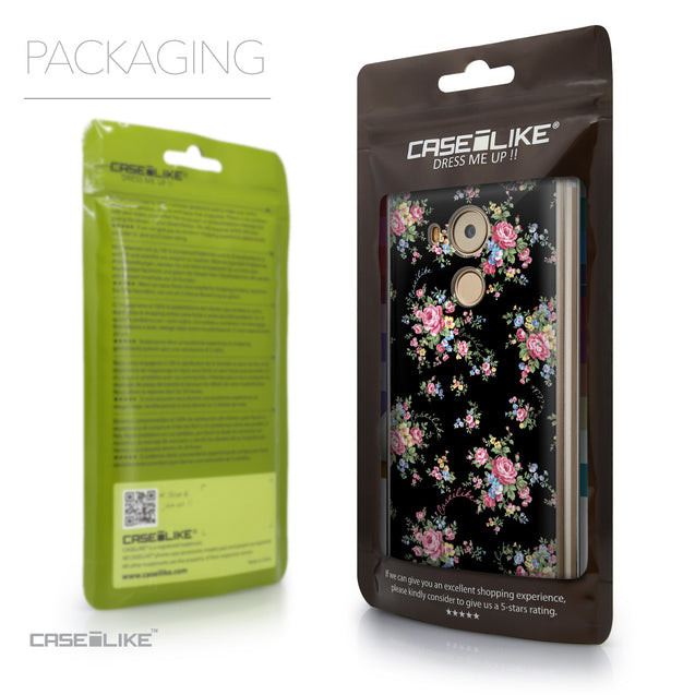 Packaging - CASEiLIKE Huawei Mate 8 back cover Floral Rose Classic 2261