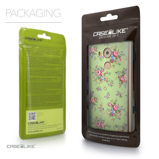 Packaging - CASEiLIKE Huawei Mate 8 back cover Floral Rose Classic 2262