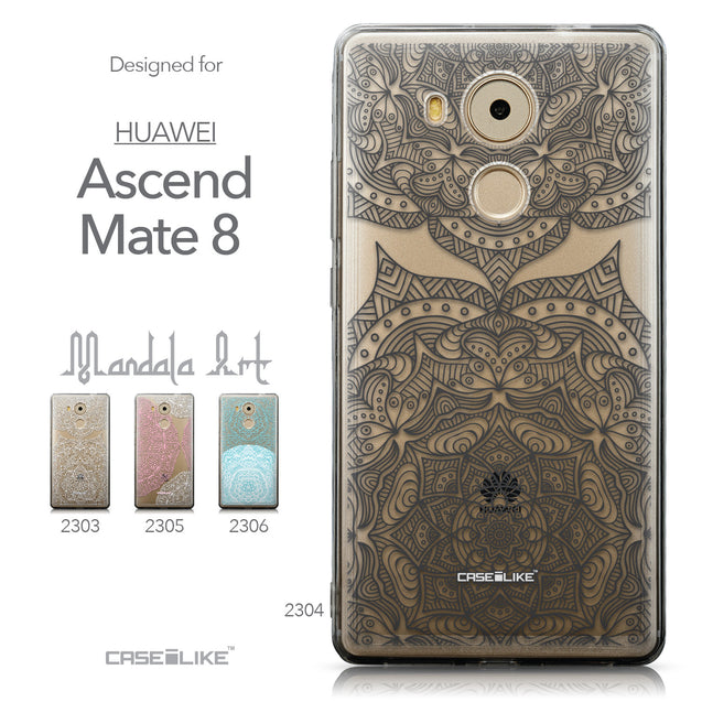 Collection - CASEiLIKE Huawei Mate 8 back cover Mandala Art 2304