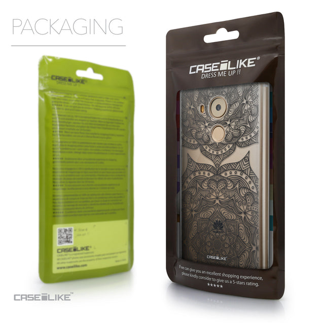 Packaging - CASEiLIKE Huawei Mate 8 back cover Mandala Art 2304
