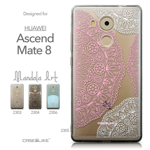 Collection - CASEiLIKE Huawei Mate 8 back cover Mandala Art 2305