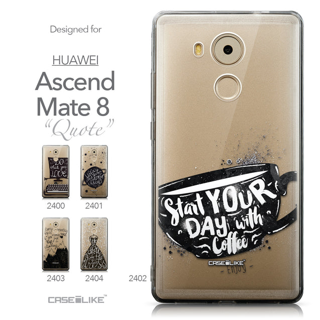 Collection - CASEiLIKE Huawei Mate 8 back cover Quote 2402