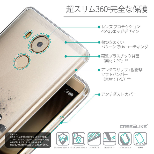 Details in Japanese - CASEiLIKE Huawei Mate 8 back cover Quote 2402