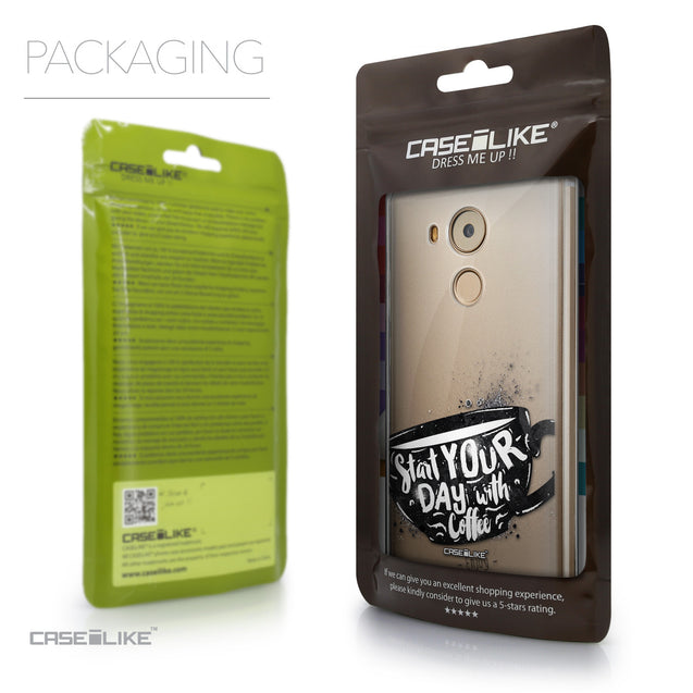 Packaging - CASEiLIKE Huawei Mate 8 back cover Quote 2402