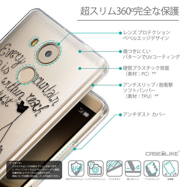 Details in Japanese - CASEiLIKE Huawei Mate 8 back cover Indian Tribal Theme Pattern 2053