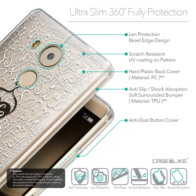 Details in English - CASEiLIKE Huawei Mate 8 back cover Indian Tribal Theme Pattern 2053