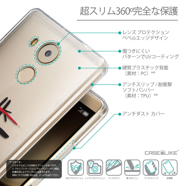 Details in Japanese - CASEiLIKE Huawei Mate 8 back cover Quote 2408