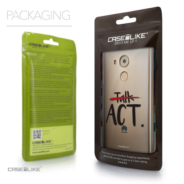 Packaging - CASEiLIKE Huawei Mate 8 back cover Quote 2408