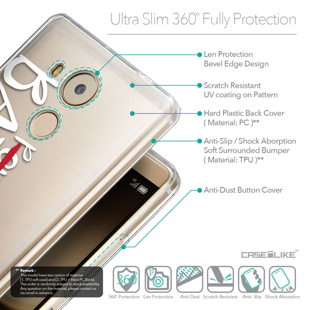 Details in English - CASEiLIKE Huawei Mate 8 back cover Quote 2410