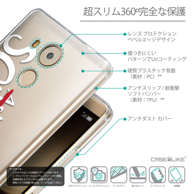 Details in Japanese - CASEiLIKE Huawei Mate 8 back cover Quote 2412