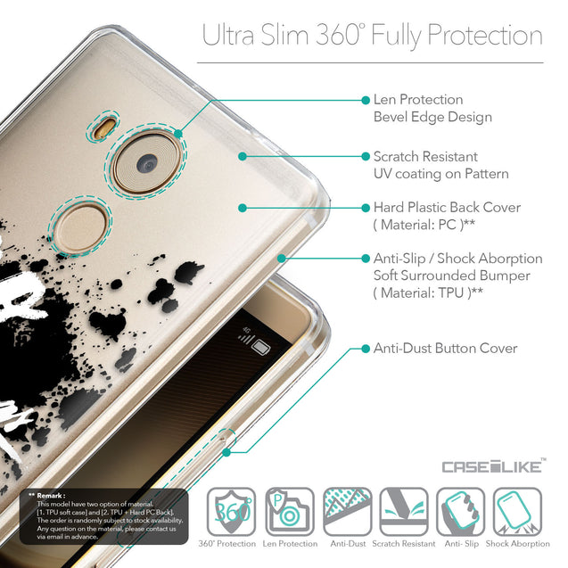 Details in English - CASEiLIKE Huawei Mate 8 back cover Quote 2415