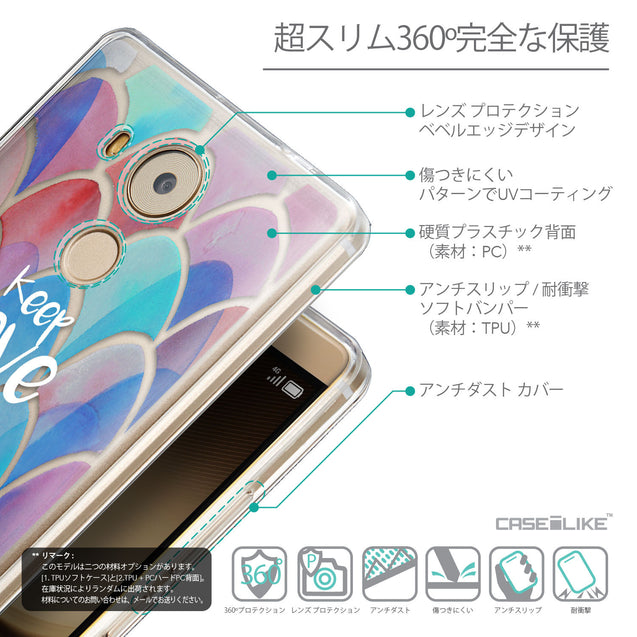 Details in Japanese - CASEiLIKE Huawei Mate 8 back cover Quote 2417