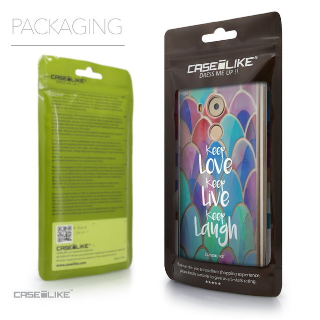 Packaging - CASEiLIKE Huawei Mate 8 back cover Quote 2417