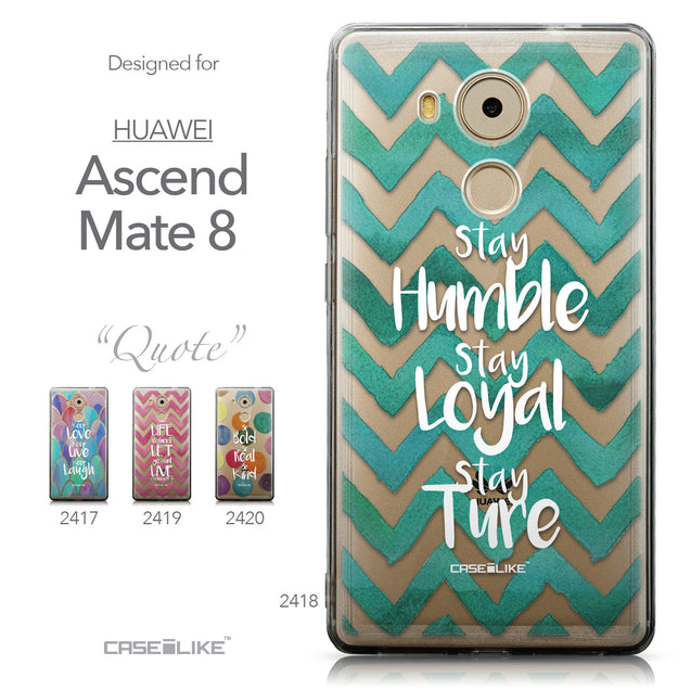 Collection - CASEiLIKE Huawei Mate 8 back cover Quote 2418