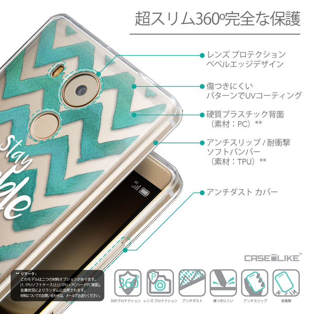 Details in Japanese - CASEiLIKE Huawei Mate 8 back cover Quote 2418