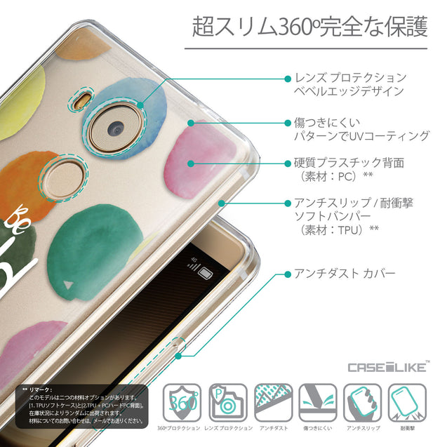 Details in Japanese - CASEiLIKE Huawei Mate 8 back cover Quote 2420