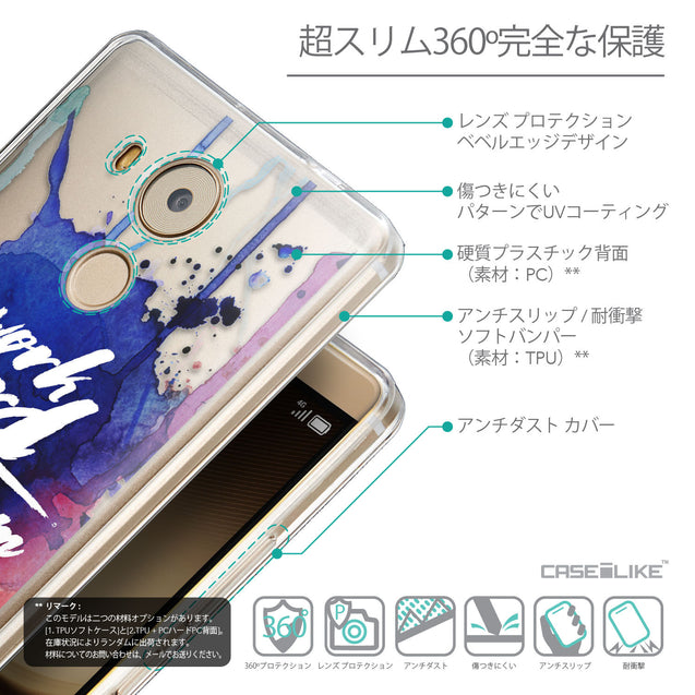 Details in Japanese - CASEiLIKE Huawei Mate 8 back cover Quote 2422