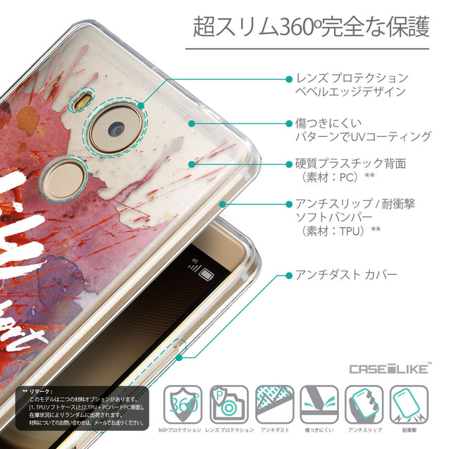 Details in Japanese - CASEiLIKE Huawei Mate 8 back cover Quote 2423