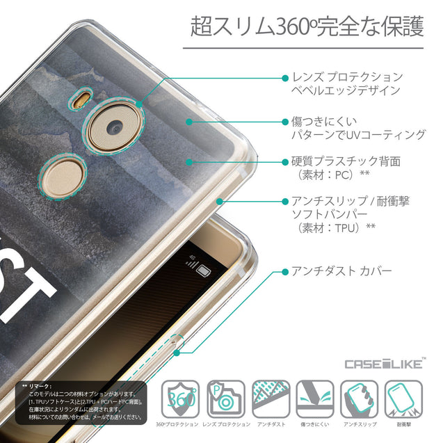 Details in Japanese - CASEiLIKE Huawei Mate 8 back cover Quote 2430