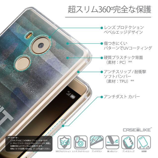 Details in Japanese - CASEiLIKE Huawei Mate 8 back cover Quote 2431
