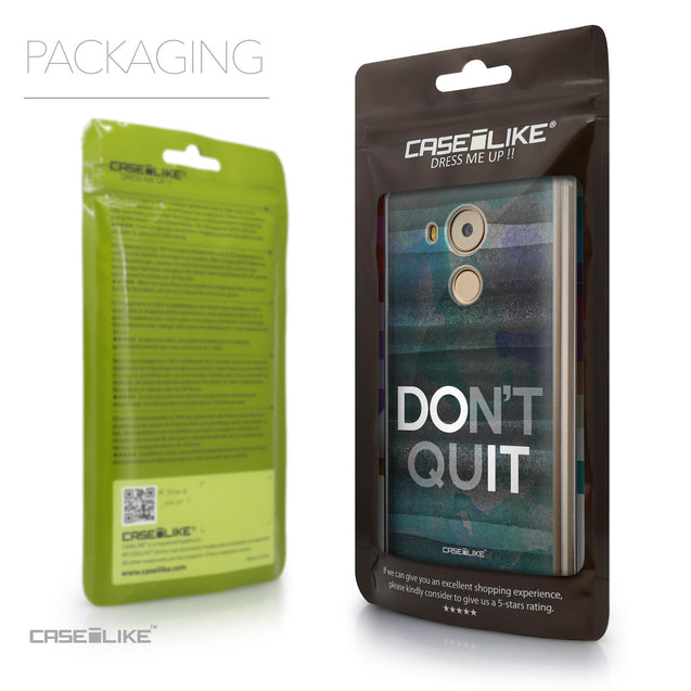Packaging - CASEiLIKE Huawei Mate 8 back cover Quote 2431