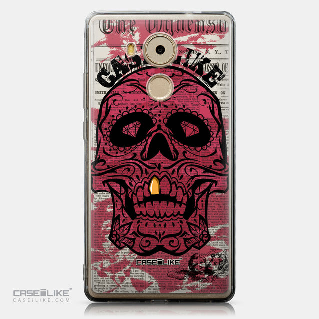 CASEiLIKE Huawei Mate 8 back cover Art of Skull 2523