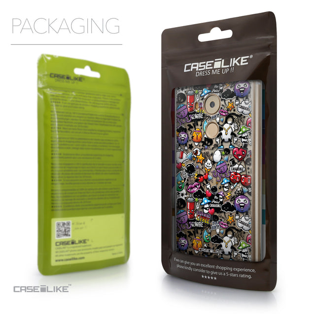 Packaging - CASEiLIKE Huawei Mate 8 back cover Graffiti 2703