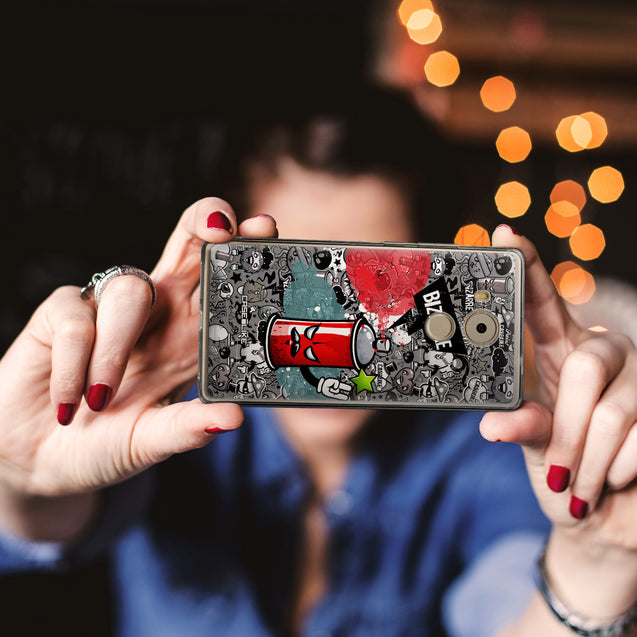 Share - CASEiLIKE Huawei Mate 8 back cover Graffiti 2705