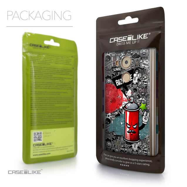 Packaging - CASEiLIKE Huawei Mate 8 back cover Graffiti 2705