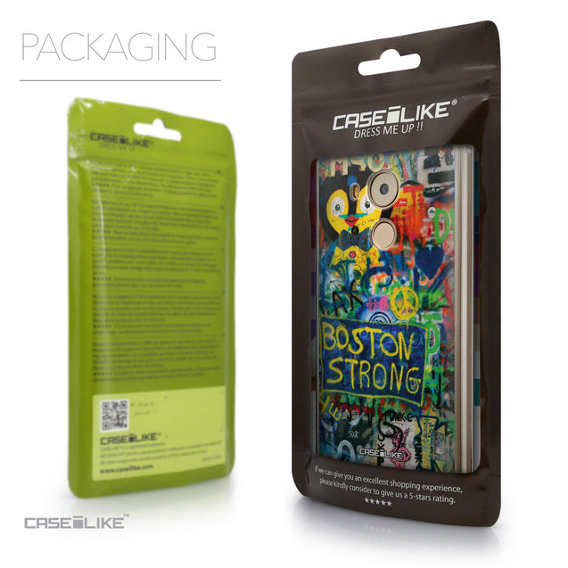 Packaging - CASEiLIKE Huawei Mate 8 back cover Graffiti 2723