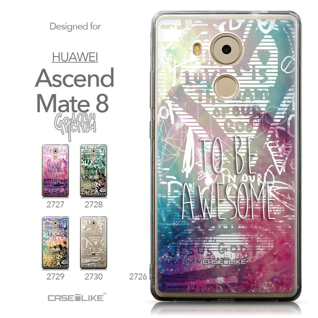 Collection - CASEiLIKE Huawei Mate 8 back cover Graffiti 2726