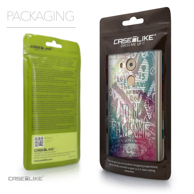 Packaging - CASEiLIKE Huawei Mate 8 back cover Graffiti 2726