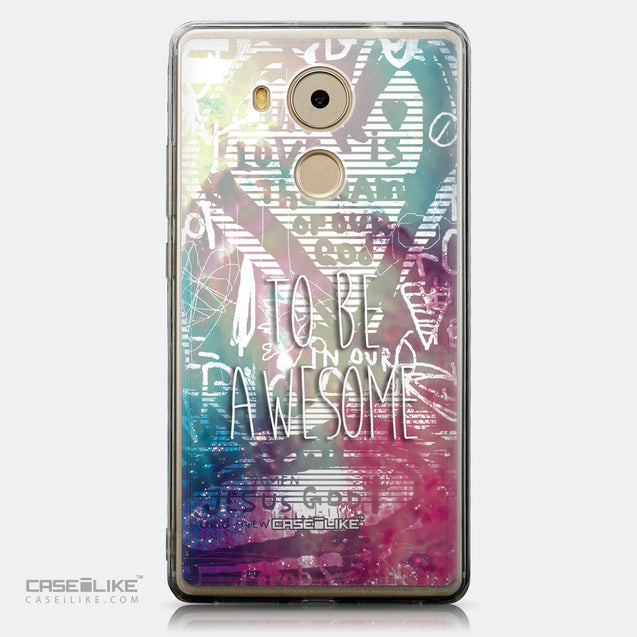 CASEiLIKE Huawei Mate 8 back cover Graffiti 2726