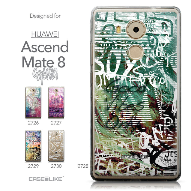 Collection - CASEiLIKE Huawei Mate 8 back cover Graffiti 2728