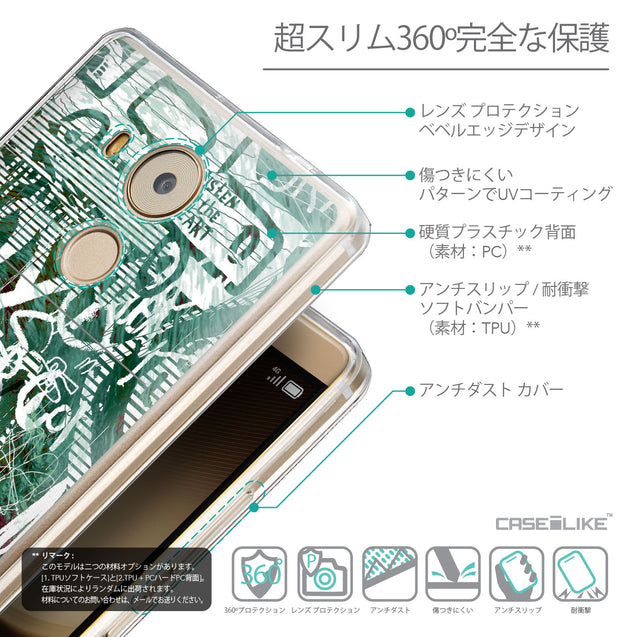 Details in Japanese - CASEiLIKE Huawei Mate 8 back cover Graffiti 2728