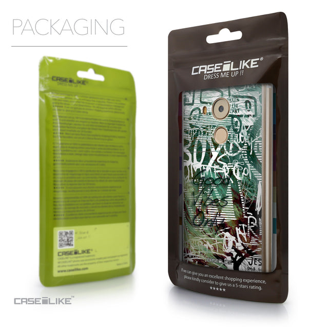 Packaging - CASEiLIKE Huawei Mate 8 back cover Graffiti 2728