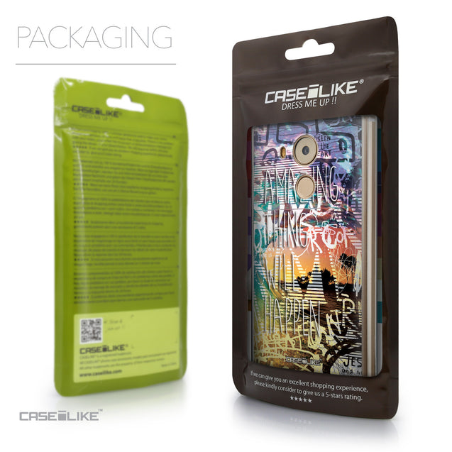 Packaging - CASEiLIKE Huawei Mate 8 back cover Graffiti 2729