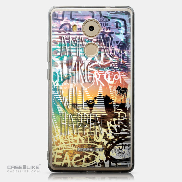 CASEiLIKE Huawei Mate 8 back cover Graffiti 2729