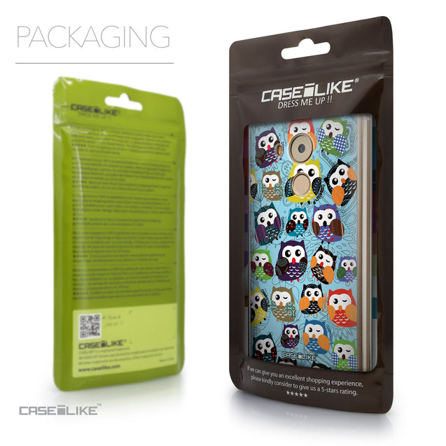 Packaging - CASEiLIKE Huawei Mate 8 back cover Owl Graphic Design 3312
