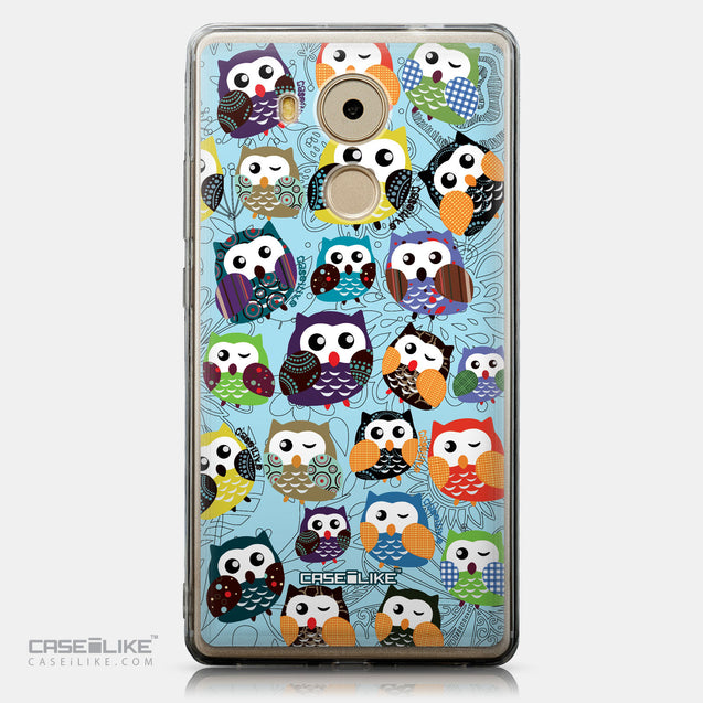 CASEiLIKE Huawei Mate 8 back cover Owl Graphic Design 3312