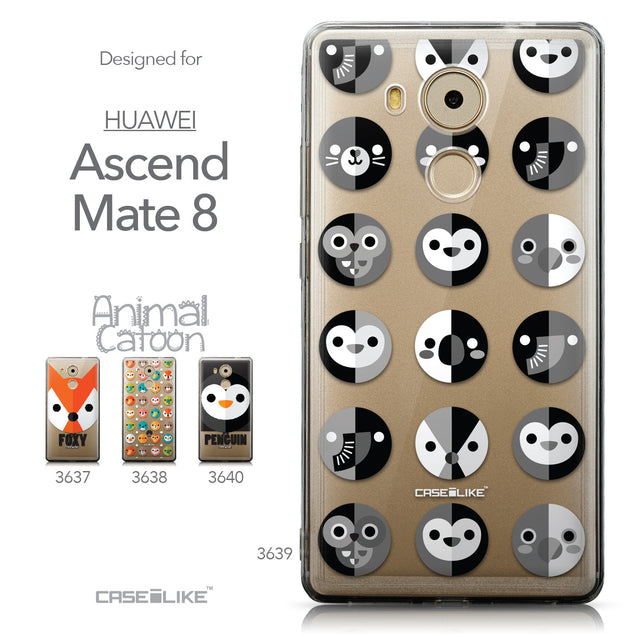 Collection - CASEiLIKE Huawei Mate 8 back cover Animal Cartoon 3639