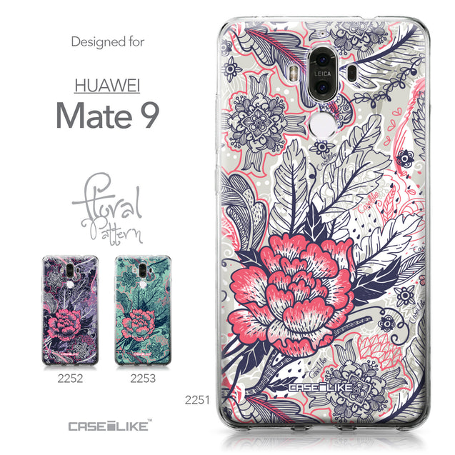 Huawei Mate 9 case Vintage Roses and Feathers Beige 2251 Collection | CASEiLIKE.com