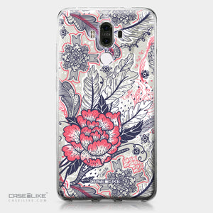Huawei Mate 9 case Vintage Roses and Feathers Beige 2251 | CASEiLIKE.com