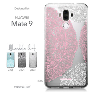 Huawei Mate 9 case Mandala Art 2305 Collection | CASEiLIKE.com