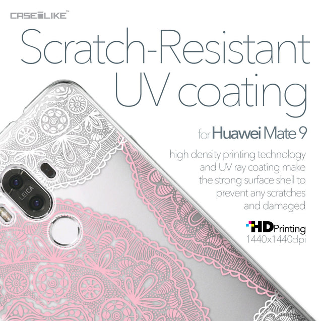 Huawei Mate 9 case Mandala Art 2305 with UV-Coating Scratch-Resistant Case | CASEiLIKE.com