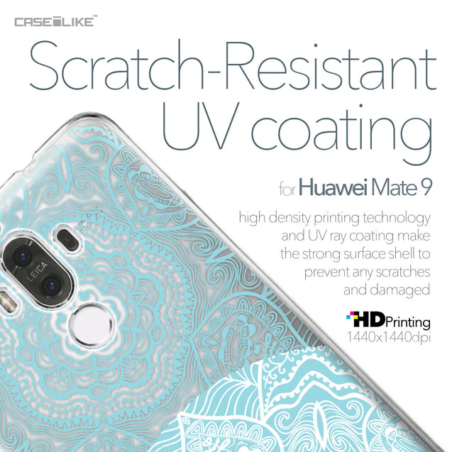 Huawei Mate 9 case Mandala Art 2306 with UV-Coating Scratch-Resistant Case | CASEiLIKE.com