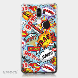 Huawei Mate 9 case Comic Captions Blue 2913 | CASEiLIKE.com