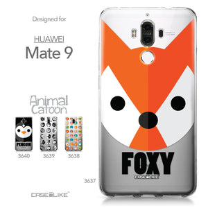 Huawei Mate 9 case Animal Cartoon 3637 Collection | CASEiLIKE.com