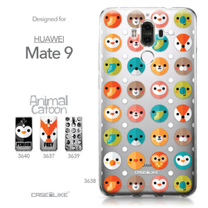 Huawei Mate 9 case Animal Cartoon 3638 Collection | CASEiLIKE.com