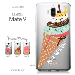 Huawei Mate 9 case Ice Cream 4820 Collection | CASEiLIKE.com